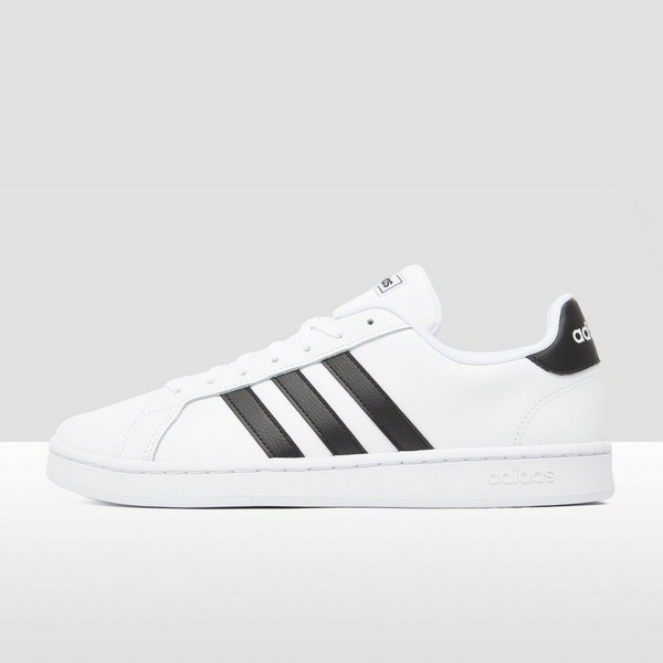 ADIDAS GRAND COURT SNEAKERS WIT/ZWART HEREN