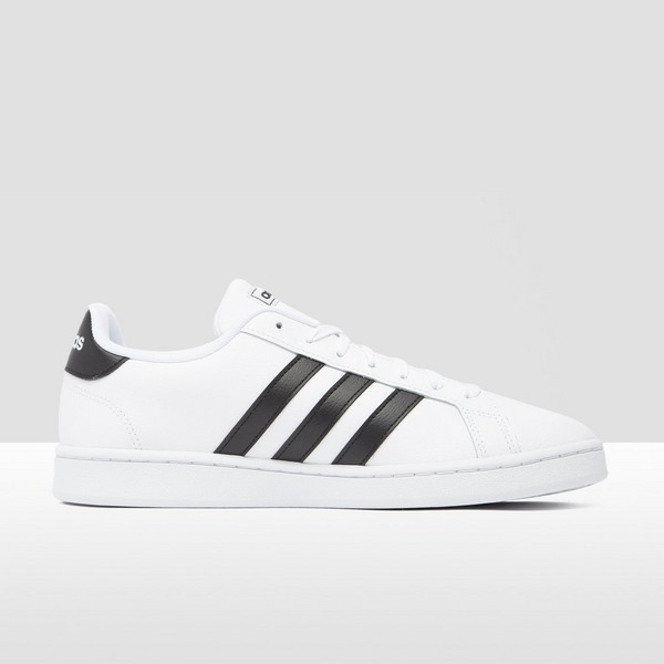ADIDAS GRAND COURT SNEAKERS WIT/ZWART HEREN | Perrysport