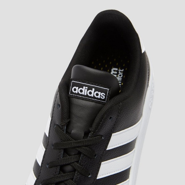 ADIDAS GRAND COURT SNEAKERS ZWART/WIT HEREN