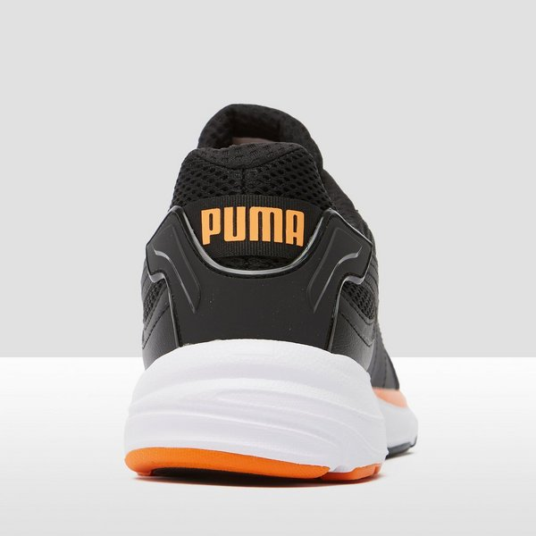 PUMA CHUNKY AXIS PLUS 90S SNEAKERS ZWART/ORANJE HEREN