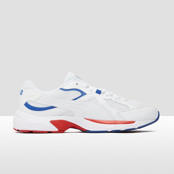 PUMA CHUNKY AXIS PLUS 90S SNEAKERS WIT/BLAUW HEREN