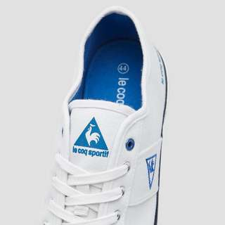 LE COQ SPORTIF LE SILVESTER LOW LACE SNEAKERS WIT HEREN