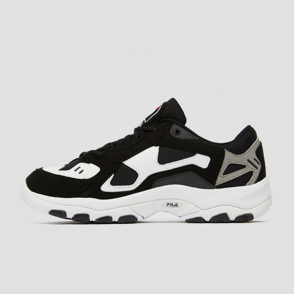 FILA SELECT LOW SNEAKERS ZWART/WIT HEREN