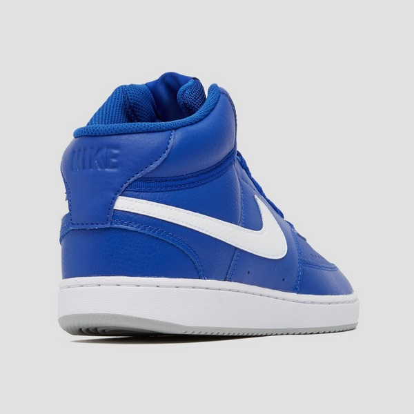 NIKE COURT VISION MID SNEAKERS BLAUW/WIT HEREN