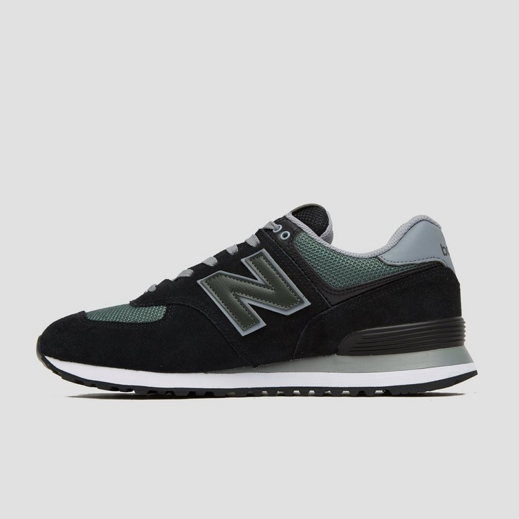 New Balance ML574 SNEAKERS ZWART/GROEN HEREN