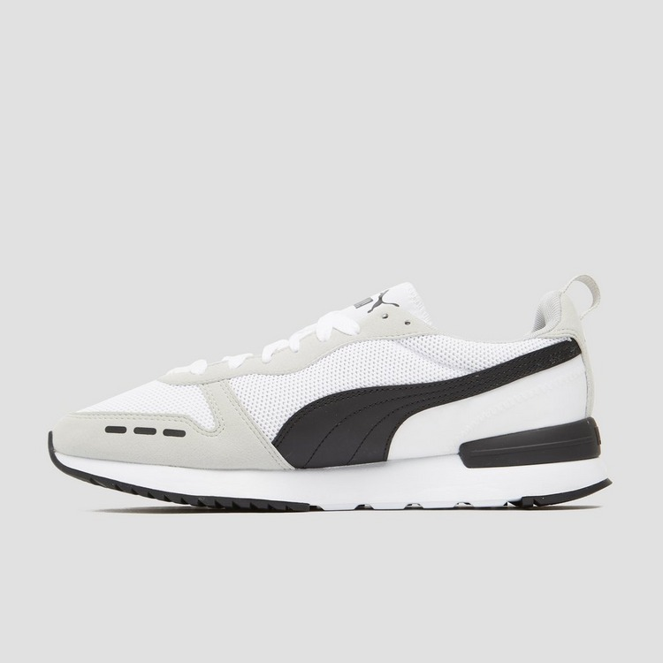 PUMA R78 SNEAKERS WIT/ZWART HEREN