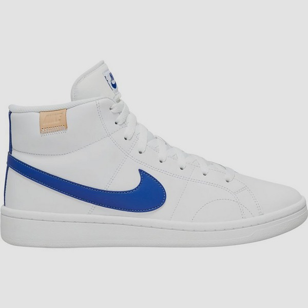 NIKE COURT ROYALE 2 MID SNEAKERS WIT/BLAUW HEREN