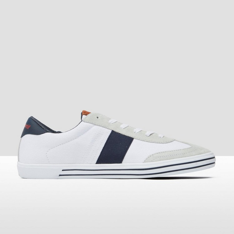 LE COQ SPORTIF VIGNEUX DEUX LOW CANVAS SNEAKERS WIT HEREN