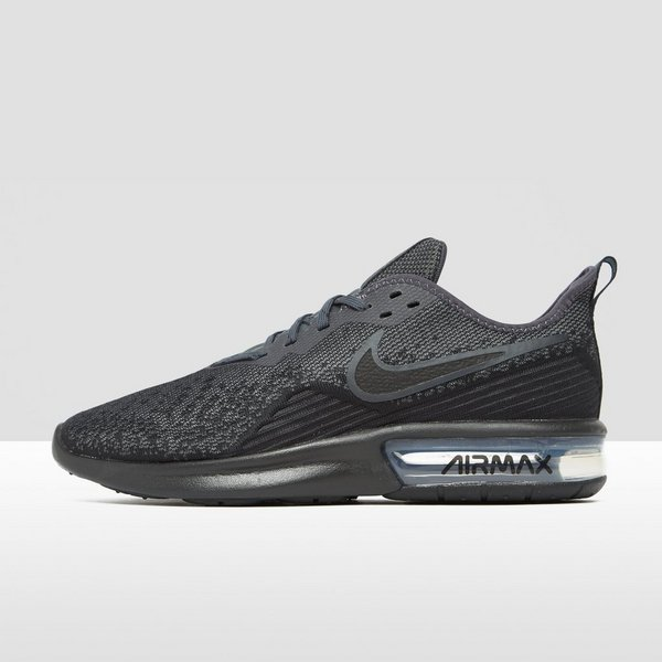 0c20bf32878 NIKE AIR MAX SEQUENT 4 SNEAKERS ZWART HEREN | Perrysport
