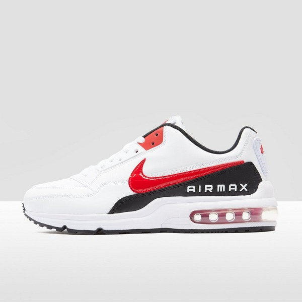 NIKE AIR MAX LTD 3 SNEAKERS WIT/ROOD HEREN