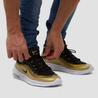 NIKE AIR MAX AXIS SNEAKERS ZWART/GOUD HEREN