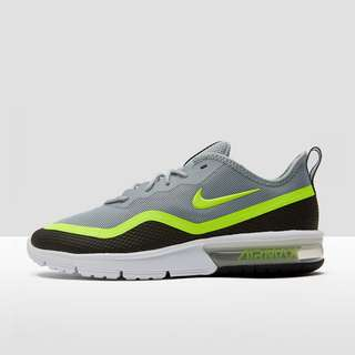 NIKE AIR MAX SEQUENT 4.5 SNEAKERS GRIJSGEEL HEREN | Perrysport