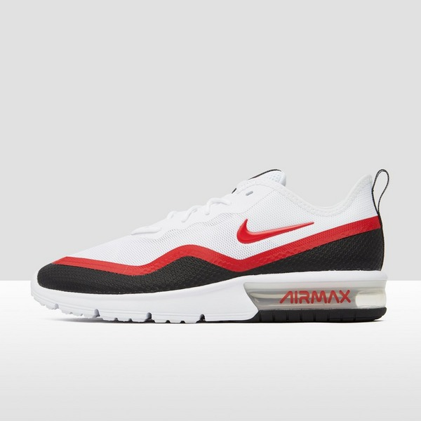 nike air max sequent heren rood