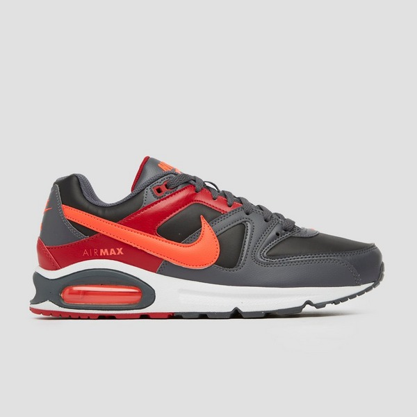NIKE AIR MAX COMMAND SNEAKERS ZWART/ROOD HEREN