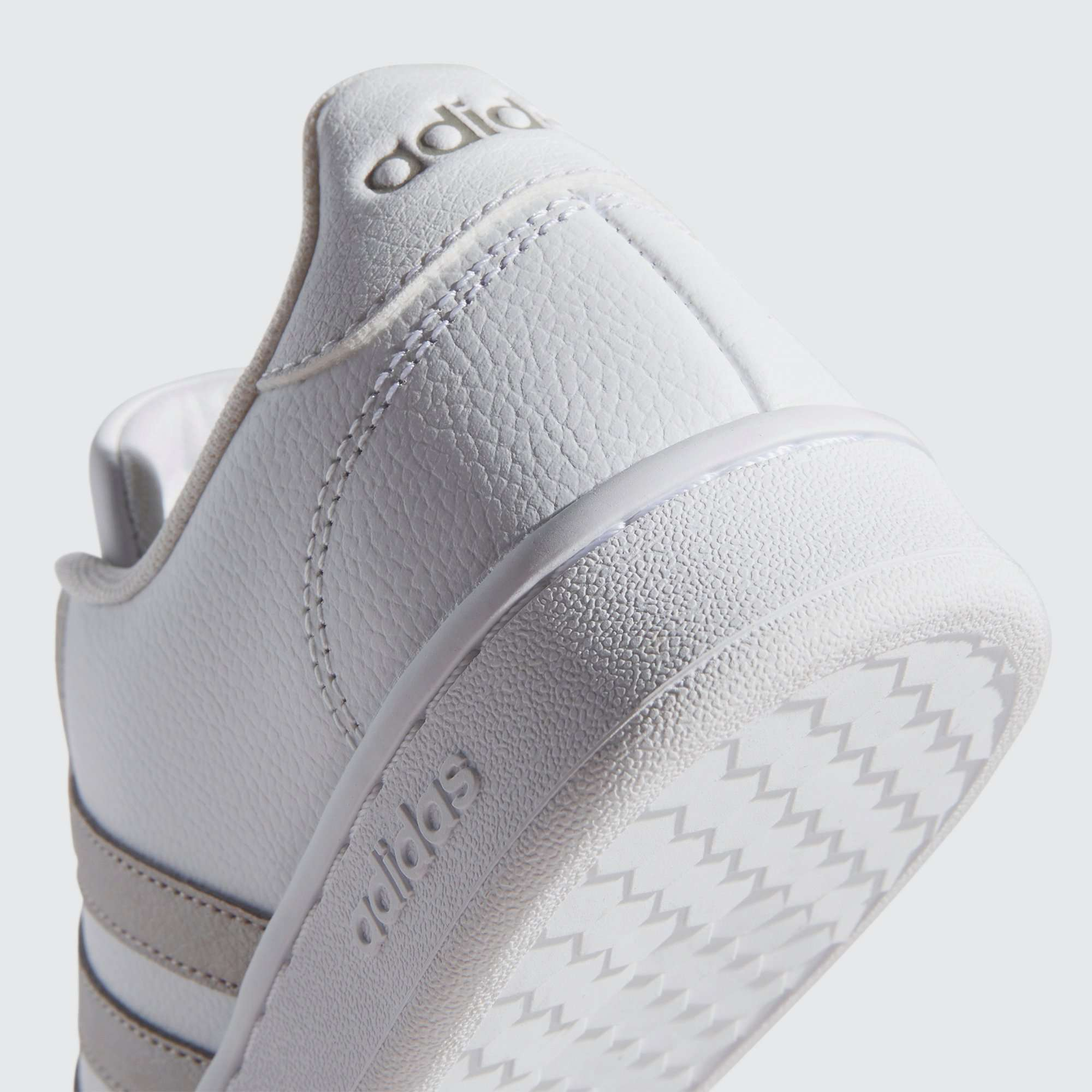 ADIDAS GRAND COURT SNEAKERS WIT/GOUD DAMES