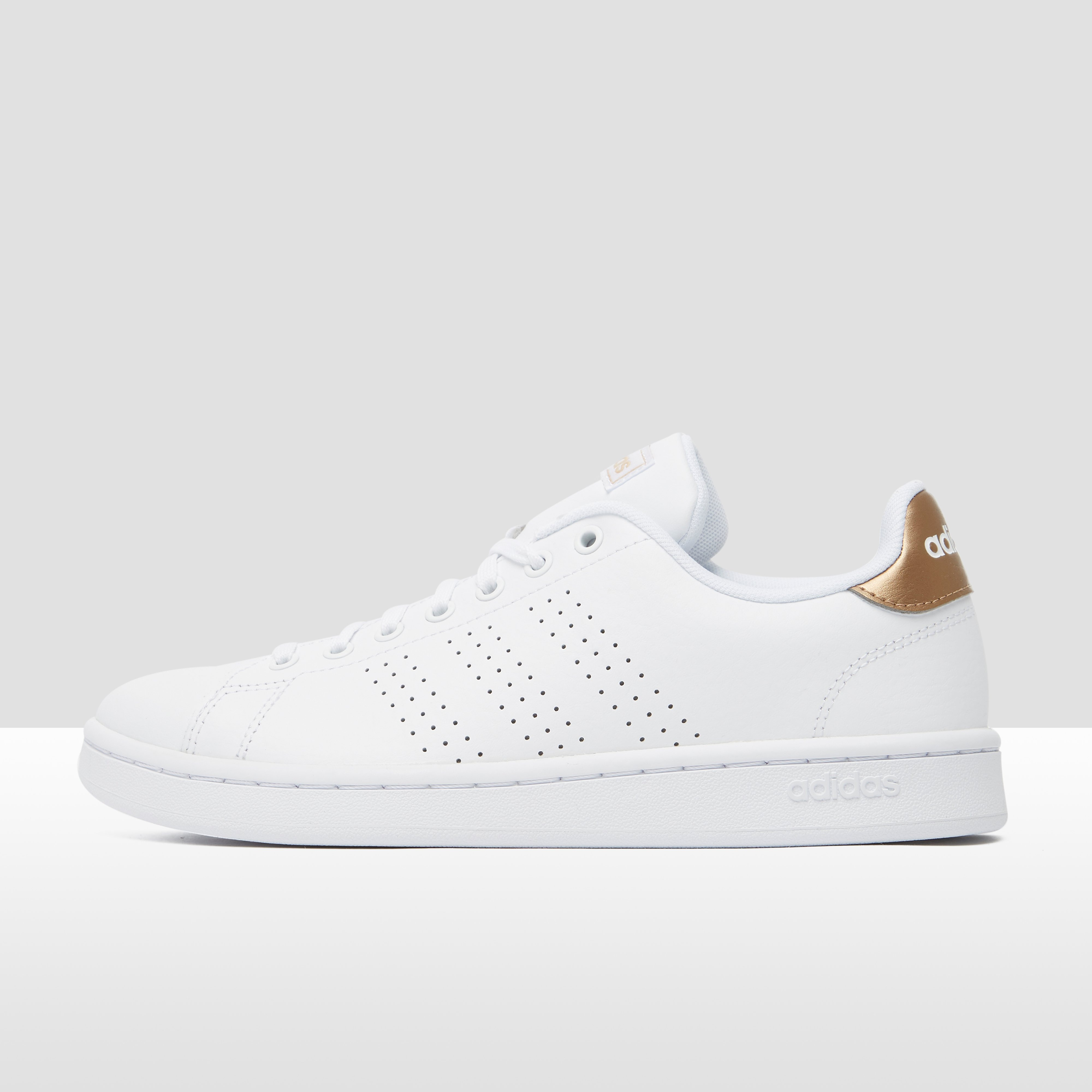 ADIDAS ADVANTAGE SNEAKERS WIT/GOUD DAMES | Perrysport