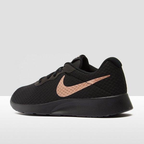 nike sneakers dames zwart met goud