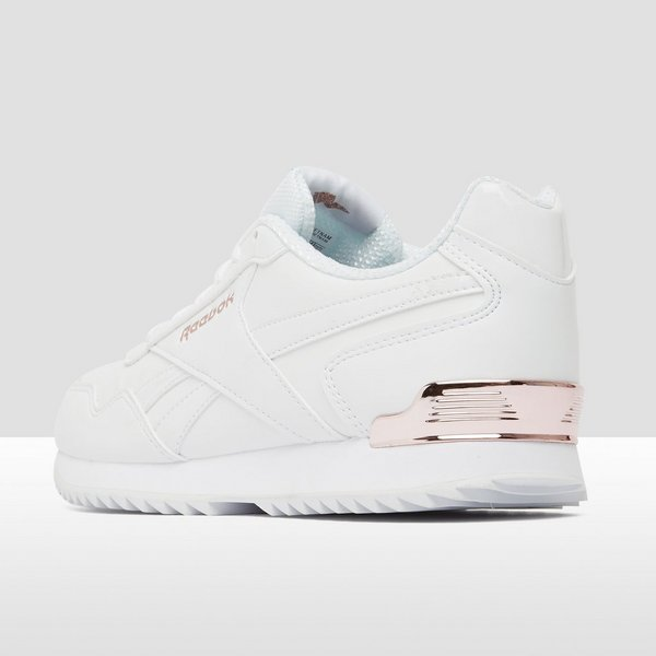 REEBOK ROYAL GLIDE RIPPLE CLIP SNEAKERS WIT/GOUD DAMES
