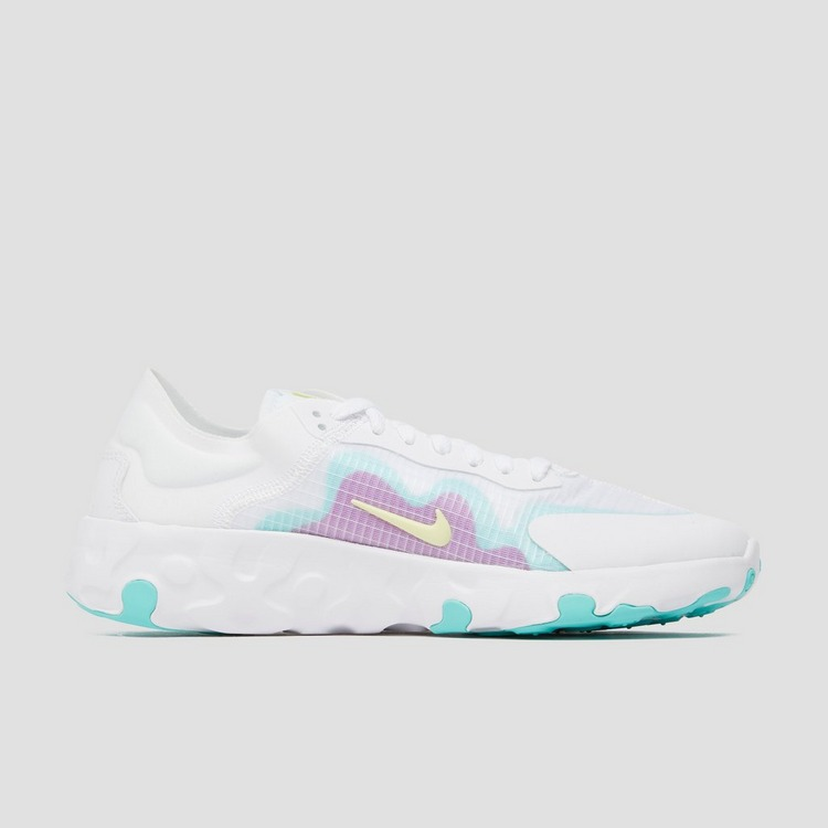 NIKE RENEW LUCENT SNEAKERS WIT/GROEN DAMES