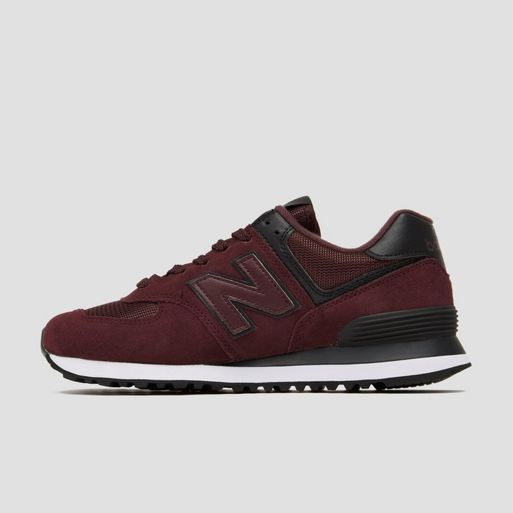 NEW BALANCE WL574 SNEAKERS ROOD DAMES