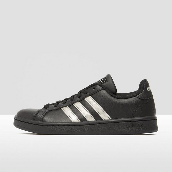 ADIDAS GRAND COURT SNEAKERS ZWART DAMES
