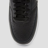 NIKE COURT VISION LOW SNEAKERS ZWART/WIT DAMES