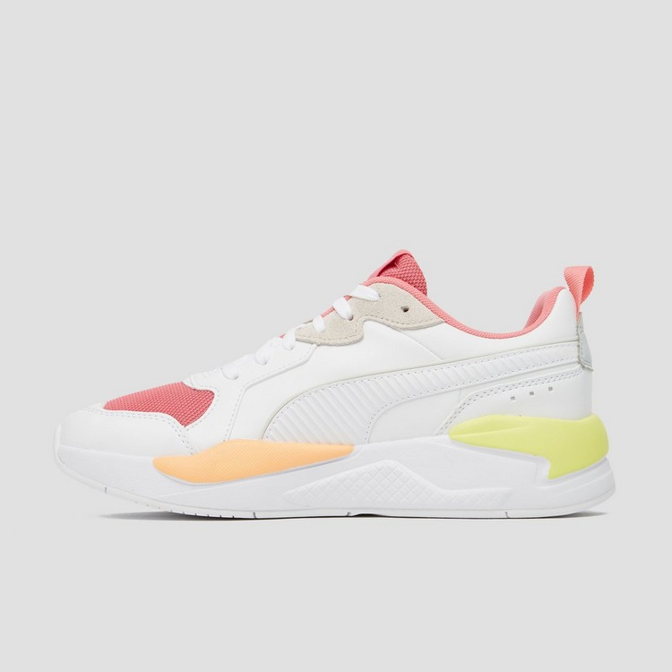 PUMA X - RAY SNEAKERS WIT/ROZE DAMES