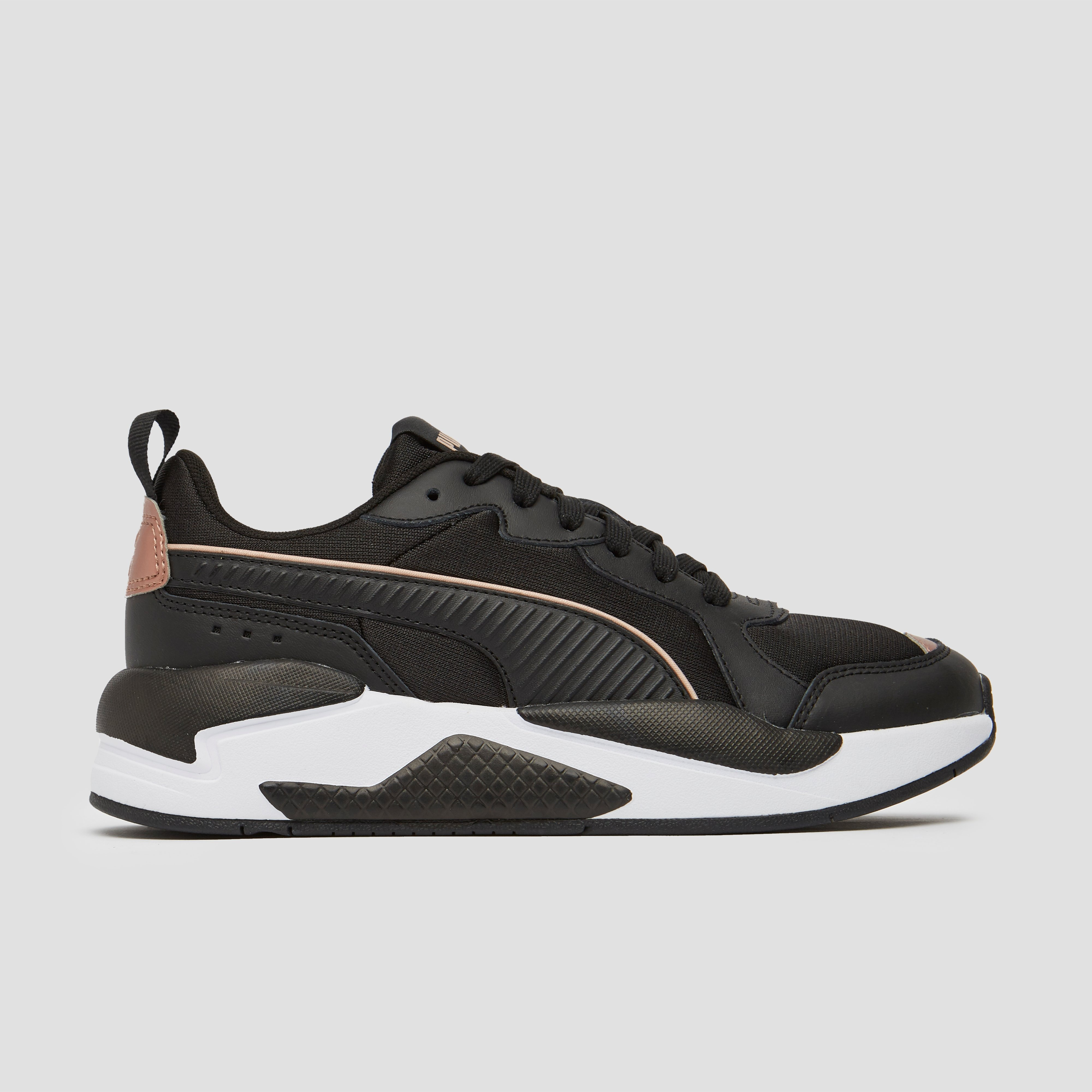 PUMA X-RAY METALLIC SNEAKERS ZWART/GOUD DAMES | Perrysport