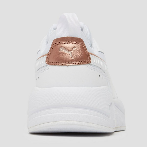 PUMA X-RAY METALLIC SNEAKERS WIT/GOUD DAMES