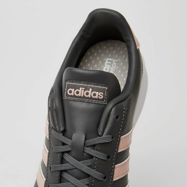 ADIDAS GRAND COURT SNEAKERS ZWART/GOUD DAMES