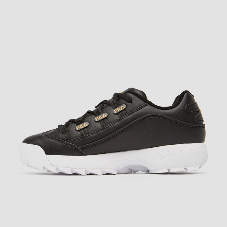 FILA HOMETOWN SNEAKERS ZWART/GOUD DAMES