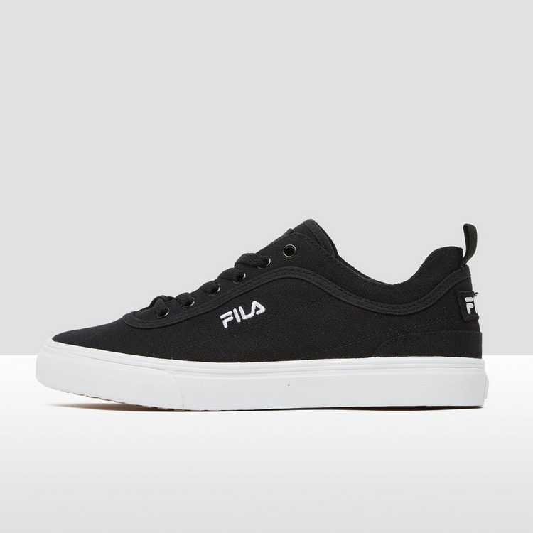 FILA DSR CANVAS SNEAKERS ZWART DAMES