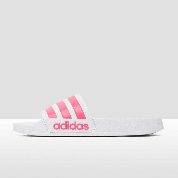 adidas adilette cloudfoam wit