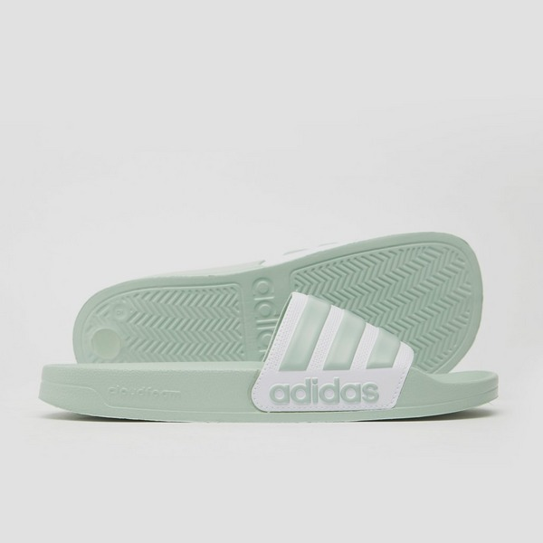 ADIDAS ADILETTE SHOWER SLIPPERS GROEN DAMES