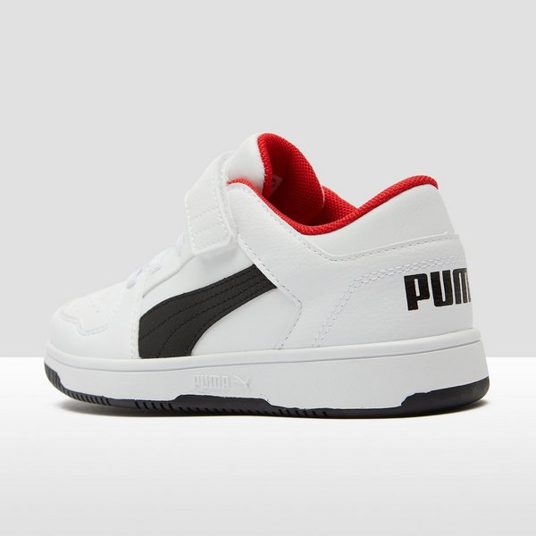 PUMA REBOUND LACE UP LOW SNEAKERS WIT KINDEREN