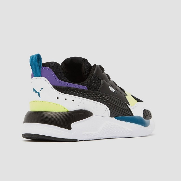 PUMA X-RAY 2 SQUARE SNEAKERS WIT/ZWART KINDEREN