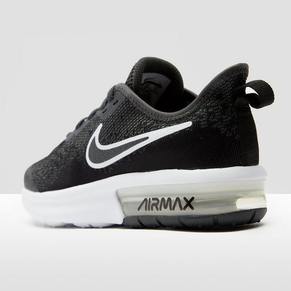 Nike Air Max Sequent 4 ZwartWit Kinderen