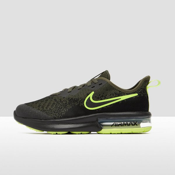 NIKE AIR MAX SEQUENT 4 SNEAKERS GROEN KINDEREN