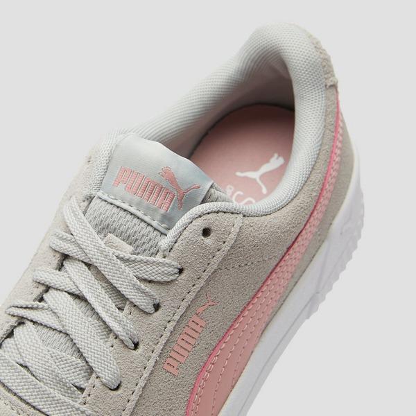 PUMA Carina sneakers grijsroze kinderen