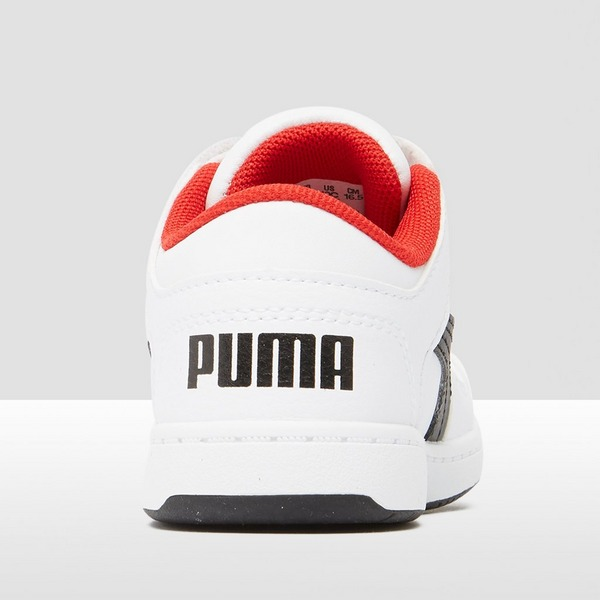 PUMA REBOUND LACEUP LOW SNEAKERS WIT BABY | Perrysport