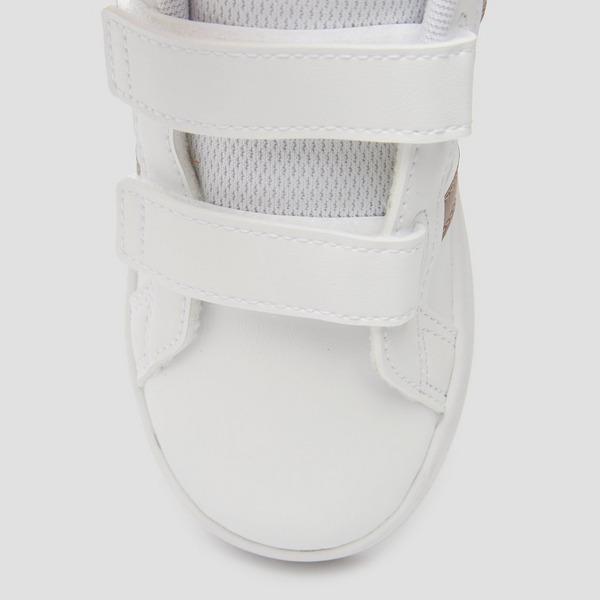 Adidas Grand court sneakers witgoud baby Kinderen