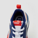 PUMA X-RAY 2 SQUARE SNEAKERS WIT/BLAUW KINDEREN
