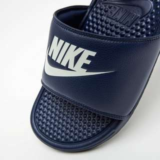 NIKE BENASSI JUST DO IT SLIPPERS BLAUW HEREN