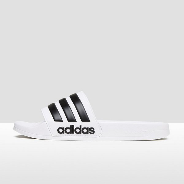 adidas cloudfoam adilette slippers wit heren
