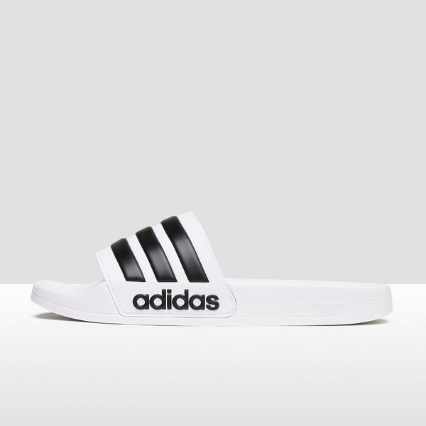 ADIDAS CLOUDFOAM ADILETTE SLIPPERS WIT HEREN | Perrysport