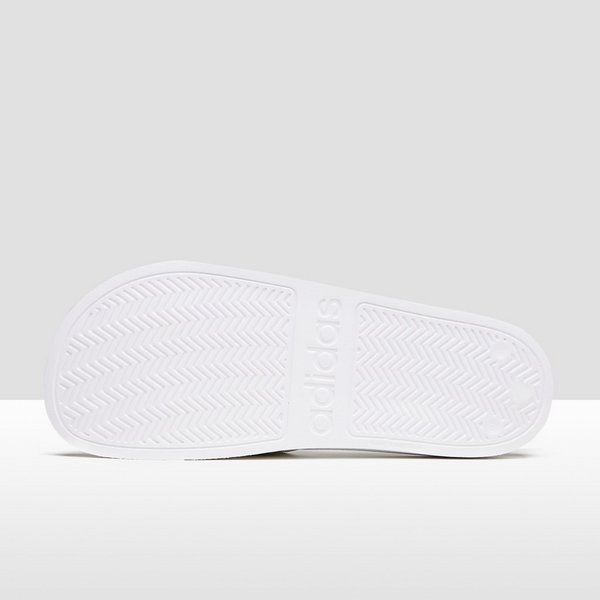 adidas cloudfoam slippers wit