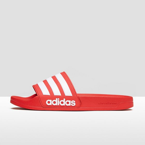 396be0bcf0a ADIDAS CLOUDFOAM ADILETTE SLIPPERS ROOD HEREN | Perrysport