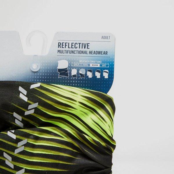 BUFF REFLECTIVE BUFF ZWART/GEEL