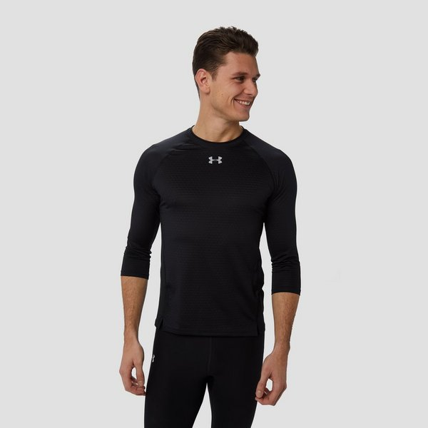 UNDER ARMOUR QUALIFIER HARDLOOPSHIRT ZWART HEREN