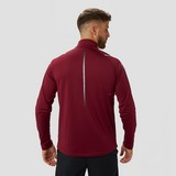 ASICS ICON WINTER HARDLOOPTOP KORTE RITS BORDEAUX ROOD HEREN